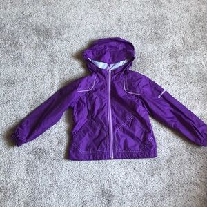 Girls Columbia Rain Jacket - 4/5
